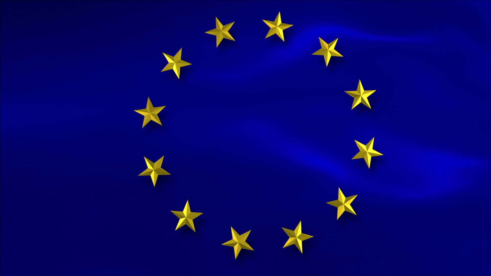 обои для рабочего стола флаг евросоюза № 389580  скачать
